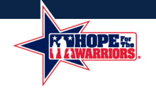 charity - Hope For The Warriors®