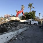 Whittier Church Demolition